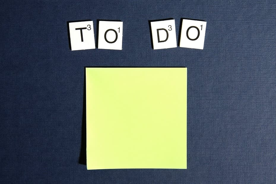 Procrastination To DO List
