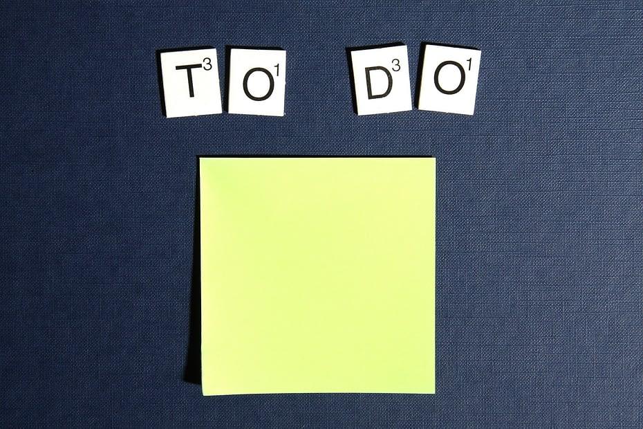 Procrastination To DO List